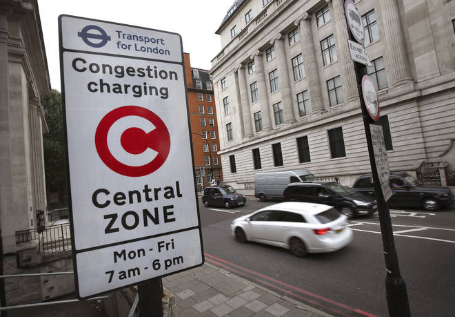 The congestion charge in Central London is now £15 per day