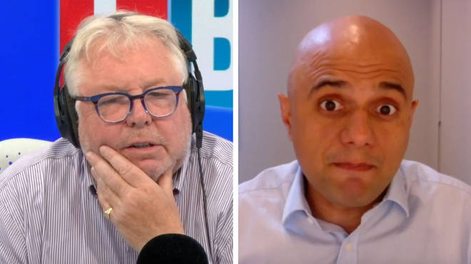 Nick Ferrari spoke to Sajid Javid about how to get the economy back up and running