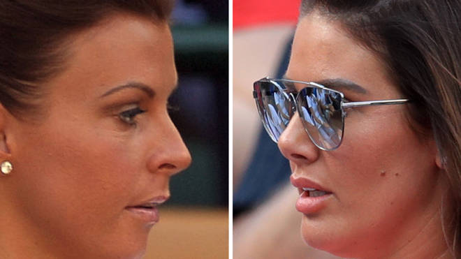 The two WAGS are set to face each other in court