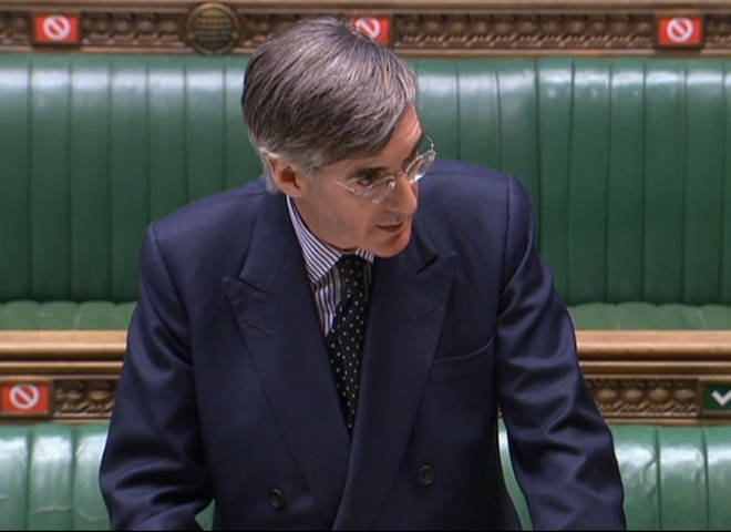 Commons Leader Jacob Rees-Mogg had tabled a motion to establish an independent expert panel to determine complaints of bullying