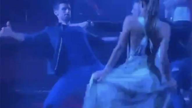 Video emerged of Novak Djokovic partying in a nightclub after the event