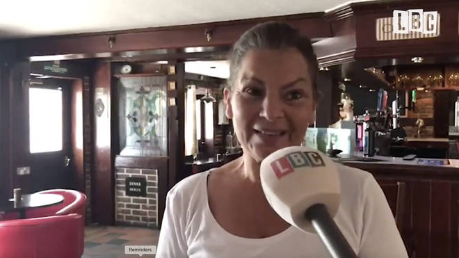 Julie Chalker, who runs the George pub in Yalding, Kent, said she doesn't know how they are going to be able to operate