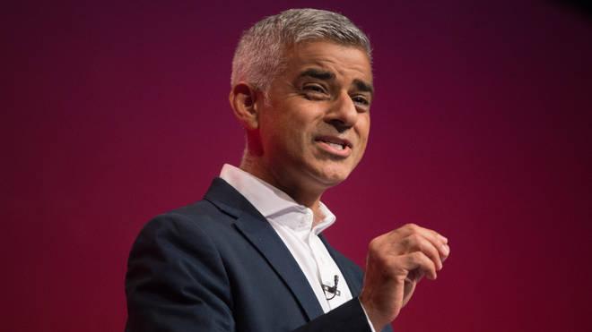 Mr Khan is facing a £493 million financial hole left by coronavirus