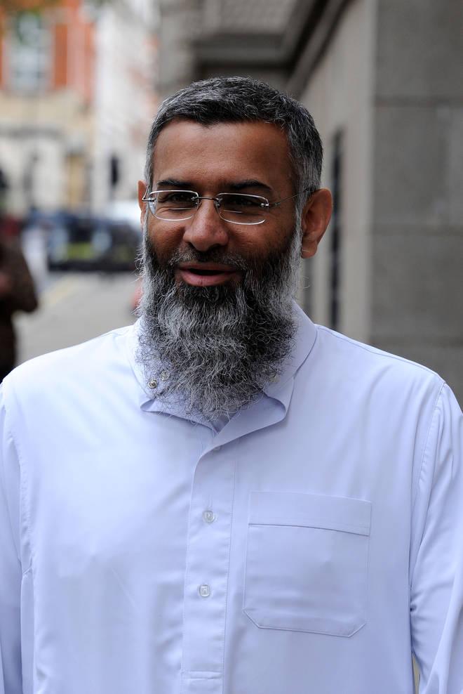 Islamist Hate Preacher Anjem Choudary