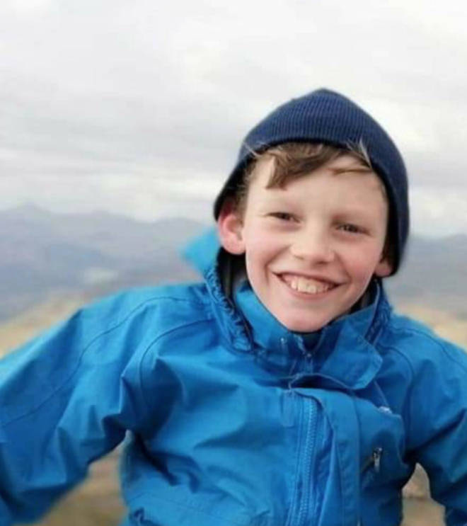 A young boy who died at Loch Lubnaig yesterday has been named as Michael Heeps