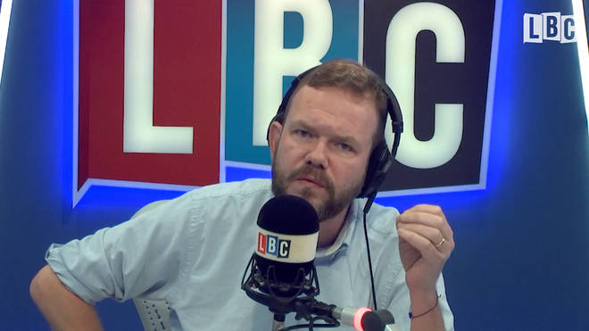 The LBC presenter said he finally understood Mr Corbyn's popularity