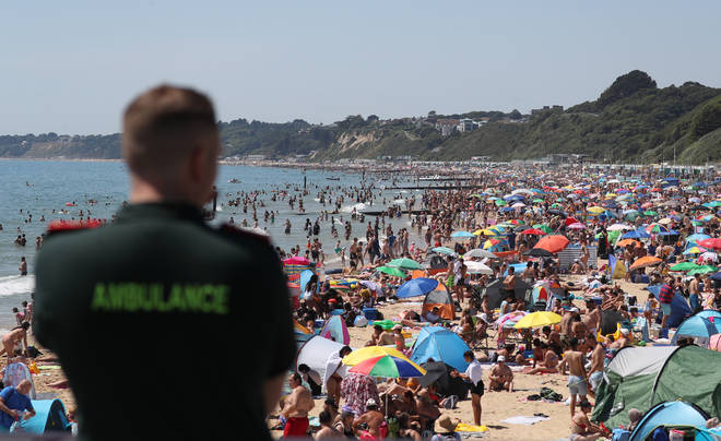 Local authorities in Bournemouth declared a major incident