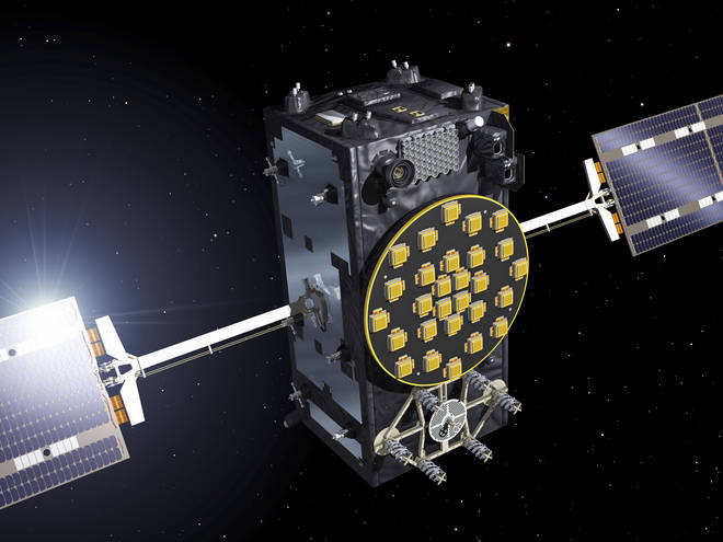 Artist view of a Galileo Full Operational Capability (FOC) satellite. Britain could launch its own satellite navigation system, as the country faces being frozen out of key elements of an EU project after Brexit.