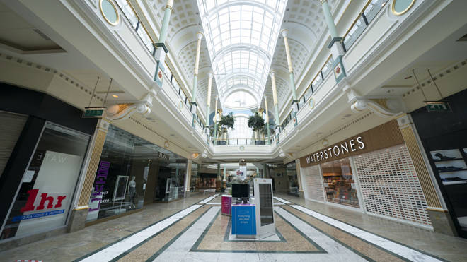 Intu owns some of the country's biggest shopping centres, including Manchester's Trafford Centre