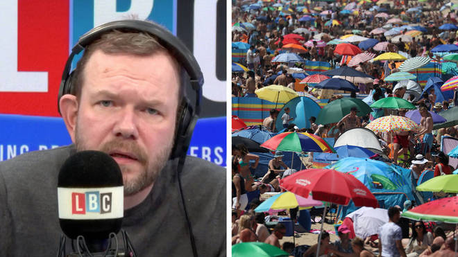 This caller insisted she did nothing wrong by going to Bournemouth beach