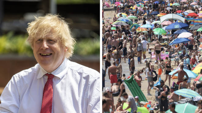 "Bournemouth council leader said: ""Bournemouth beaches were packed because PM gave up six weeks ago"""