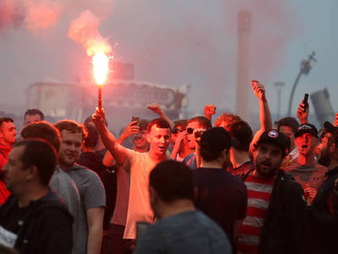 Liverpool fans took to the streets for two days to celebrate their clubs win