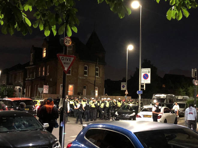"""Police were called to break out """"unlicensed music events"""" at Clapham Common and Tooting Bec Common"""