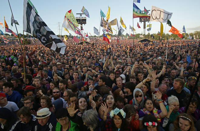 The Glastonbury festival was scheduled to go on this weekend