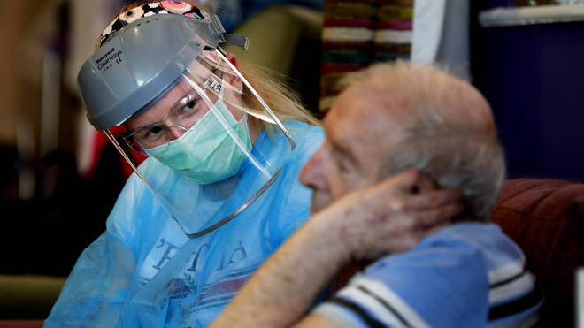 Care Homes suffered a shortage of PPE