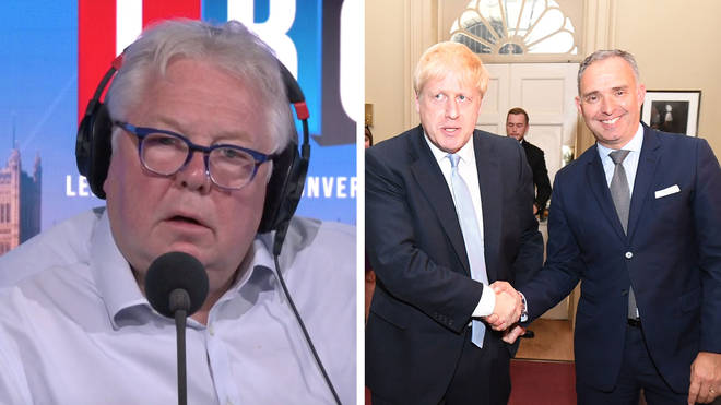 Nick Ferrari heard from Lord Ricketts about Mark Sedwill stepping down