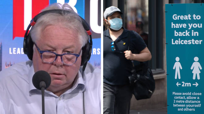 Nick Ferrari spoke to the Leicester Mayor about the possibility of a local lockdown