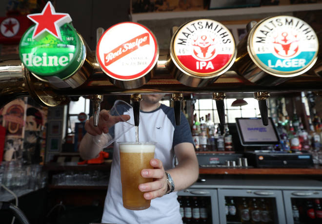 """Less pubs are """"vanishing"""" despite lockdown measures being in place"""