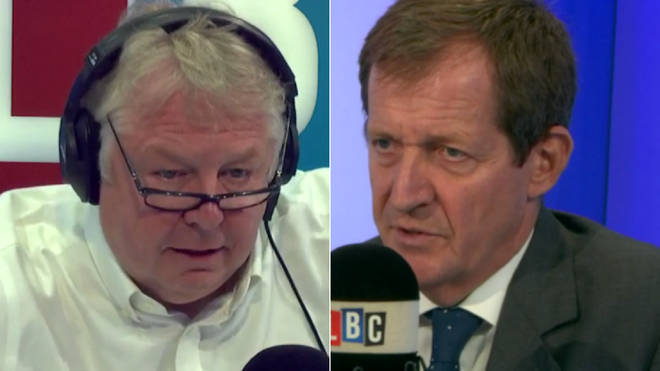 Nick Ferrari spoke to Alastair Campbell