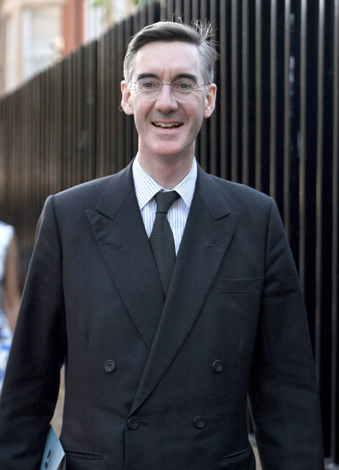 Jacob Rees-Mogg spoke to Eddie Mair about last night's meeting of Conservative MPs