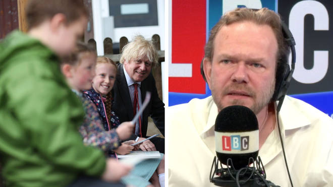A teacher told James O'Brien how difficult re-opening schools will be