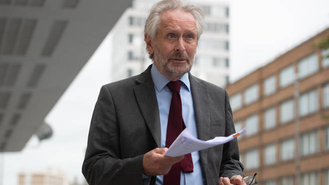 The mayor of Leicester Sir Peter Soulsby with a report from Public Health England