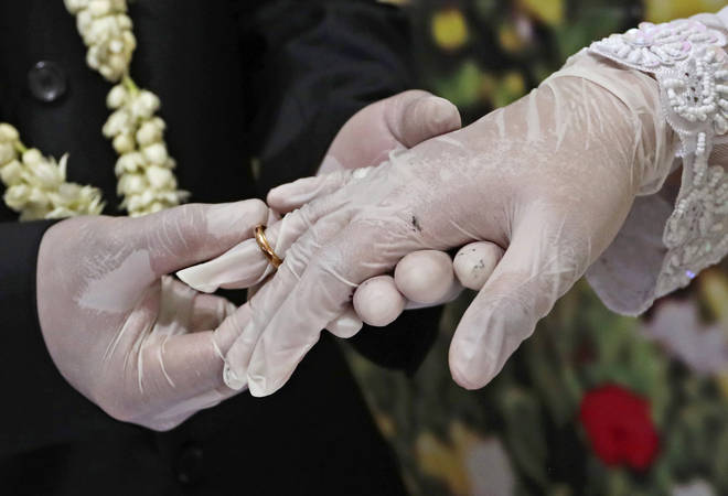 New hygiene measures will be in place for weddings