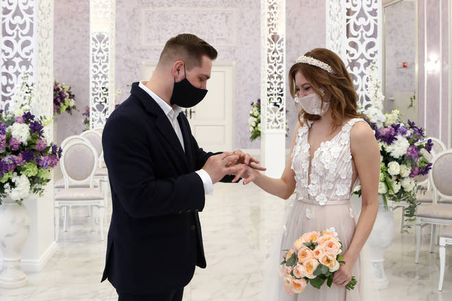 Masks will be encouraged at weddings