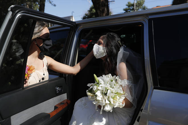 Weddings will have to be attended by no more than 30 people