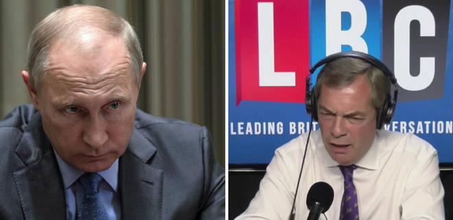 Putin Farage
