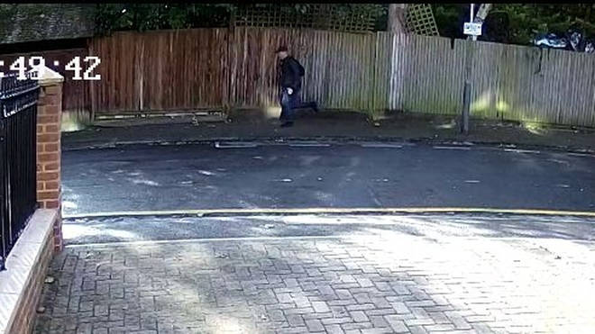 Police released this CCTV of a suspected sex attacker