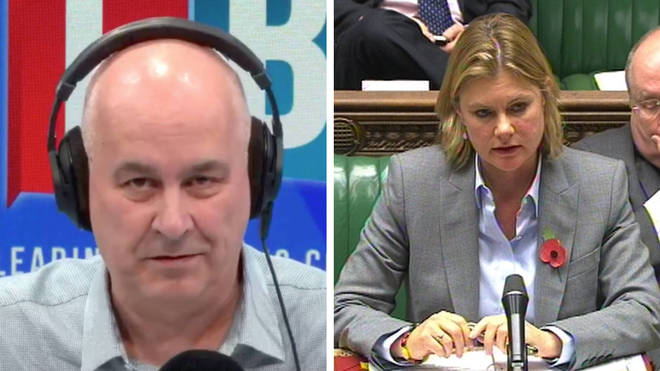 Ms Greening told Iain Dale that fining parents was not a priority
