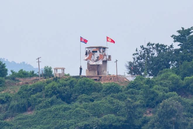 The North-South Korean border