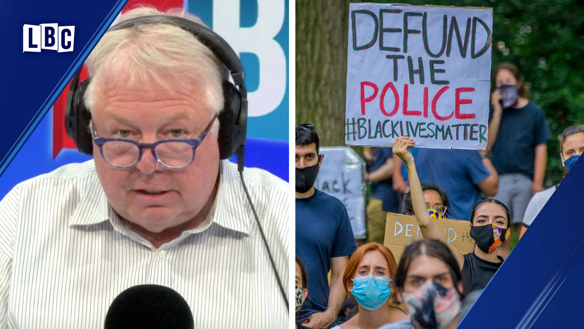 Nick Ferrari takes on caller who wants to defund the police
