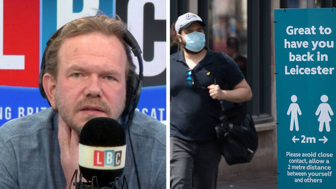 James O'Brien heard we would see more local lockdowns in the future
