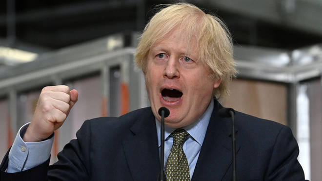 Prime Minister Boris Johnson has pledged 5bn for infrastructure projects
