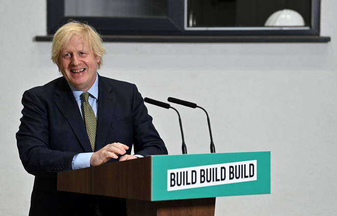 Boris Johnson pledged £5 billion to kickstart the UK economy