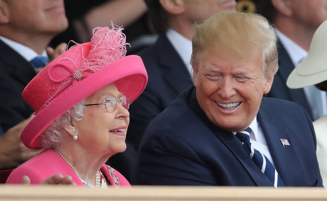 The Queen held a phone call with Donald Trump ahead of the USA's Independence Day
