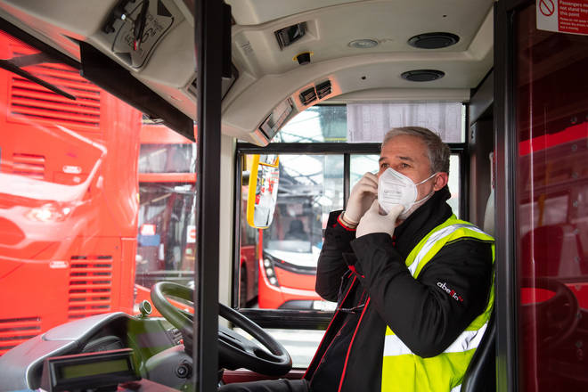 Bus drivers have been banned from enforcing passengers to wear masks