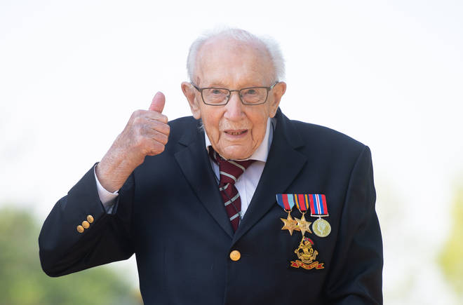 Captain Tom Moore raised more than £30 million for the NHS