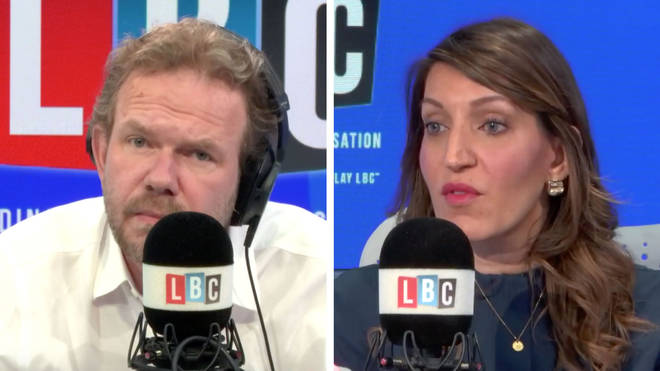 James O'Brien spoke to Dr Rosena Allin-Khan about Sarah Vine's comments
