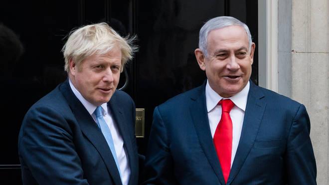 Boris Johnson made the warning on Wednesday