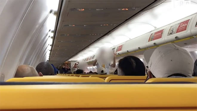 On board a Ryanair flight as the airline comes out of lockdown