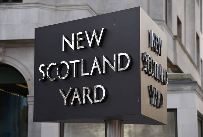 A Met Police spokesman confirmed the officer had been warned