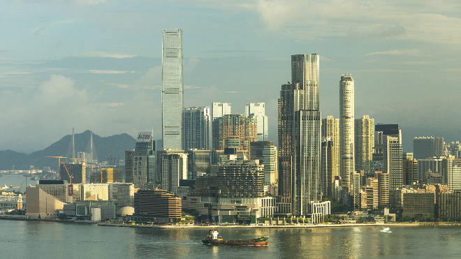 A think tank director has suggested building a second Hong Kong in the UK
