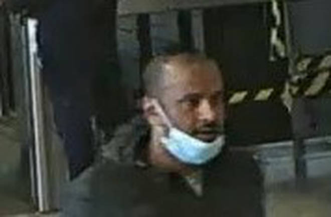 Police are trying to trace this man in connection to the incident