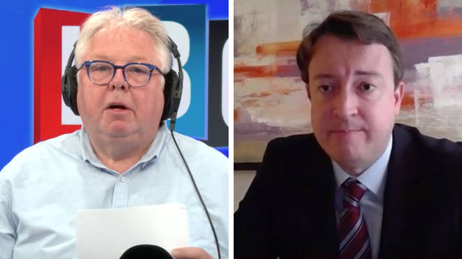 Nick Ferrari asked Simon Clarke about the plan for the Hong Kongers
