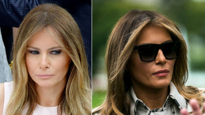 Was Donald Trump with the real Melania?