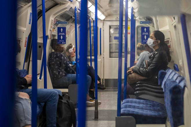 Face coverings are now compulsory on TfL transport