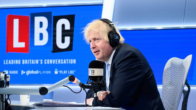 The Prime Minister was speaking exclusively to LBC